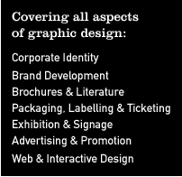 Covering all aspects of graphic design